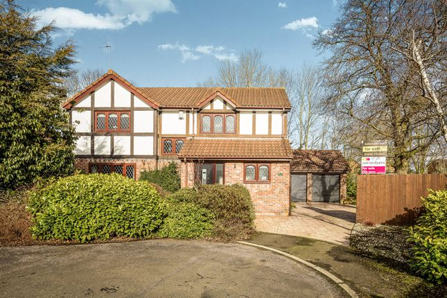 Thumbnail Detached house for sale in Lapwing Close, Darnhall, Winsford