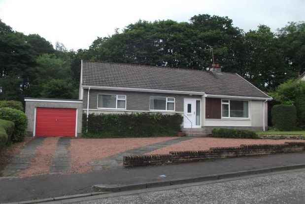 Thumbnail Bungalow to rent in Woodend Road, Ayr
