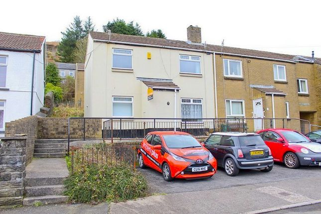 Thumbnail Semi-detached house to rent in Library Close, Pentre