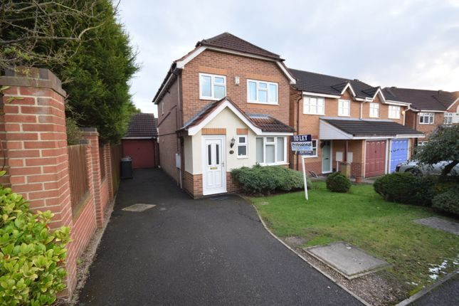 Thumbnail Detached house to rent in Hermitage Park Way, Newhall, Swadlincote