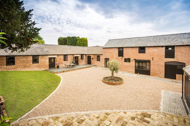 Thumbnail Barn conversion for sale in Church Road, Quarndon, Derby
