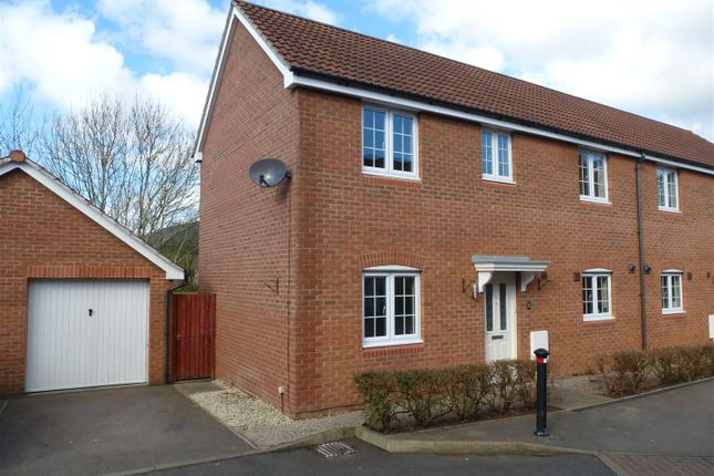 Thumbnail Semi-detached house to rent in James Stephens Way, Thornwell, Chepstow