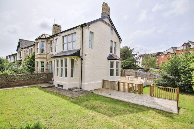 Thumbnail End terrace house for sale in Church Avenue, Penarth
