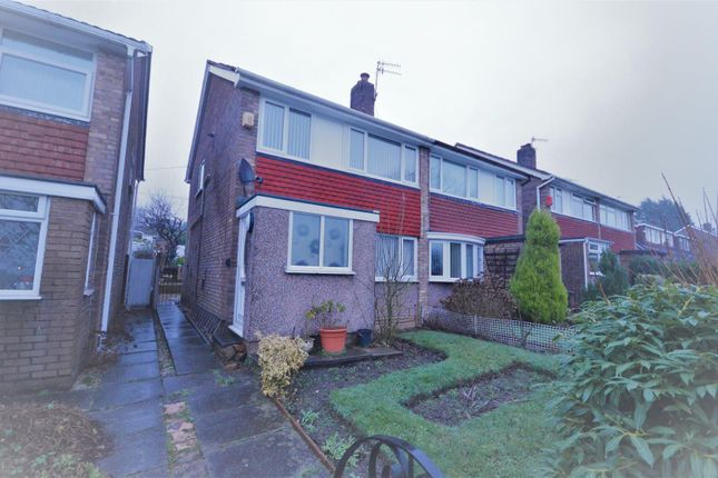 Thumbnail Semi-detached house to rent in Helton Close, Prenton