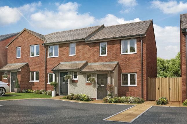 "Thumbnail 2 bed end terrace house for sale in ""The Oxcroft I"" at High Street, Riddings, Alfreton"