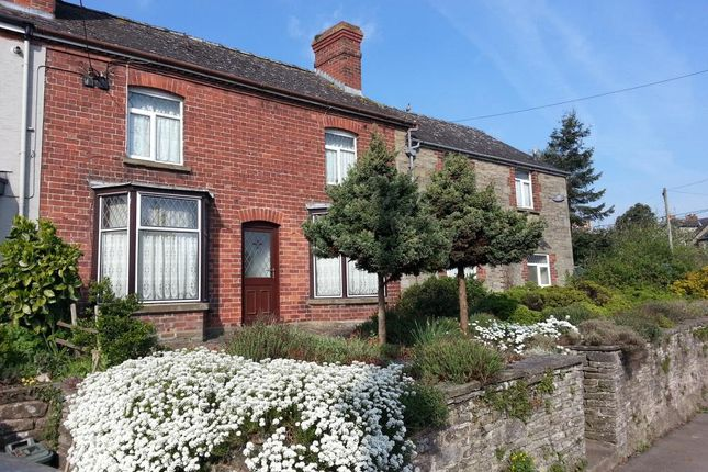 Thumbnail End terrace house for sale in Hay On Wye, Scope For Separate Suite
