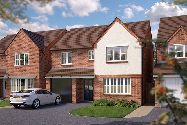 "Thumbnail Detached house for sale in ""The Montford"" at Squinter Pip Way, Bowbrook, Shrewsbury"