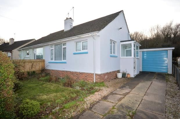 Thumbnail Semi-detached bungalow for sale in Devon Heath, Chudleigh Knighton, Chudleigh, Newton Abbot