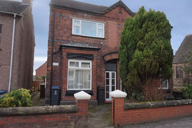 Thumbnail Flat to rent in Uttoxeter Road, Blythe Bridge, Stoke-On-Trent, Staffordshire
