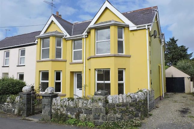 Thumbnail Semi-detached house for sale in Dinas Cross, Newport
