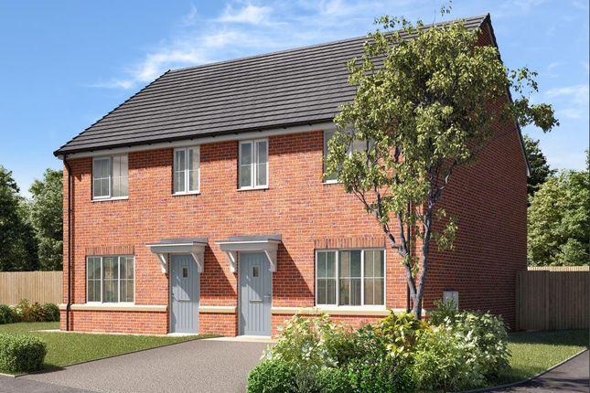 Thumbnail Semi-detached house for sale in Pinfold Garth, Sherburn In Elmet, Leeds