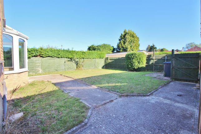 Garden of Highland Drive, Oakley, Basingstoke RG23