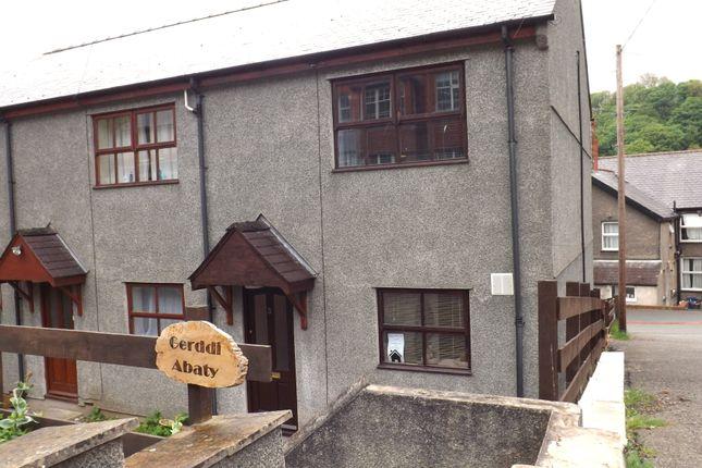 Thumbnail Semi-detached house to rent in Gerddi'r Abaty, Bangor, Gwynedd