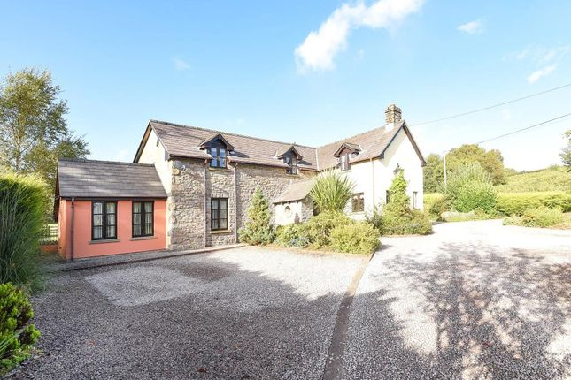 Thumbnail Detached house for sale in Trallong, Brecon 8Hr