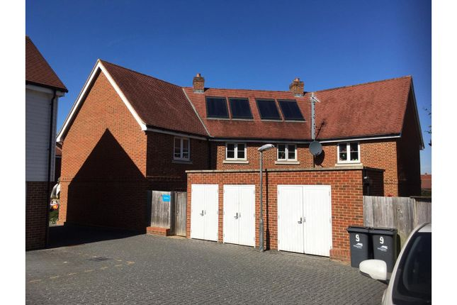Rear View of Gournay Road, Hailsham BN27