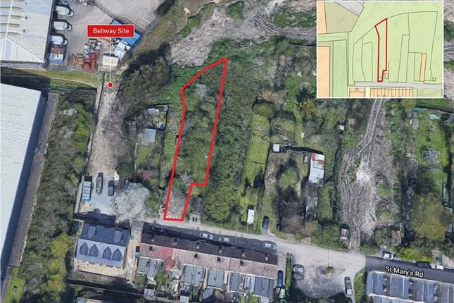 Land for sale in Plot Opposite 4 St Mary'S Road, Greenhithe, Kent