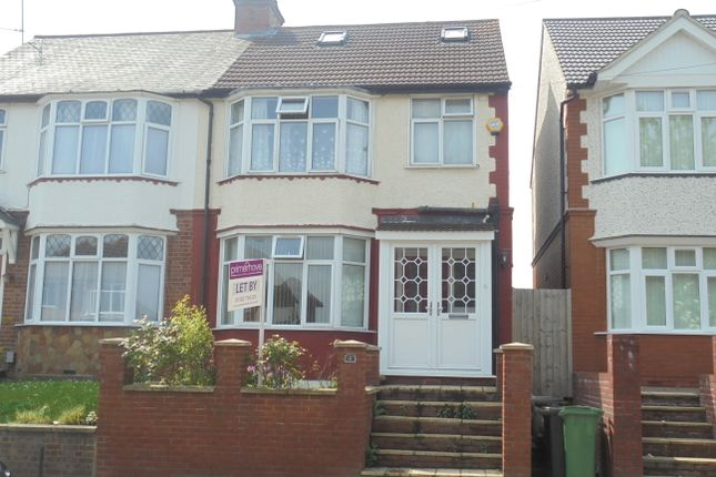 Thumbnail Semi-detached house to rent in Black Swan Lane, Luton