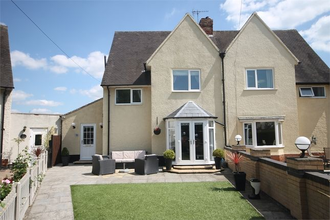 Semi-detached house for sale in Clifton Crescent, Newark, Nottinghamshire.