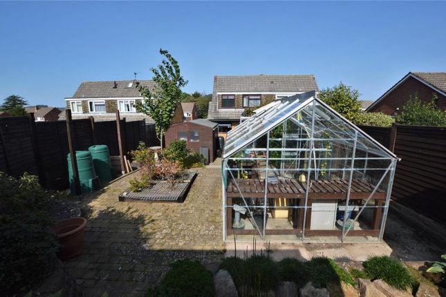 Garden of Millhead Road, Honiton EX14