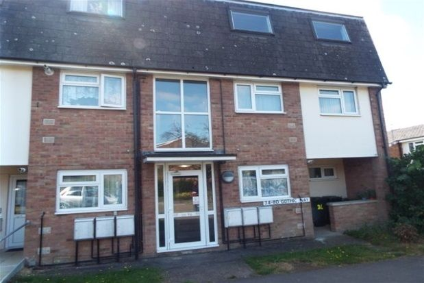 Thumbnail Flat to rent in Gothic Way, Arlesey