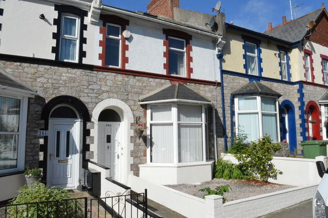 Thumbnail Terraced house for sale in Babbacombe Road, Torquay