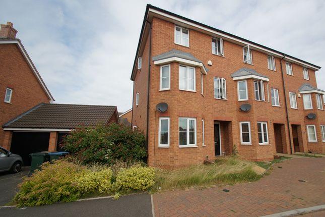 Thumbnail End terrace house to rent in Shropshire Drive, Coventry