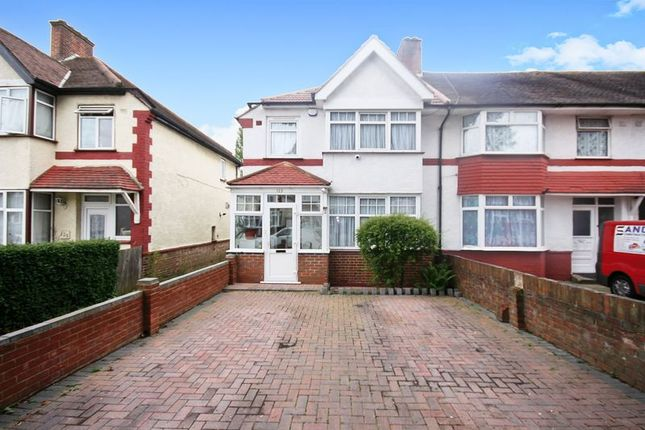 Thumbnail 3 bed terraced house for sale in Mornington Road, Greenford