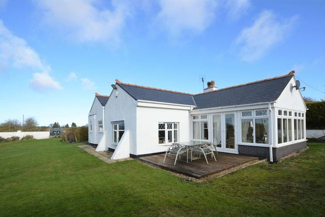 Thumbnail Detached bungalow for sale in Brynford, Holywell
