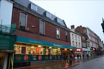 Thumbnail Commercial property for sale in 34 & 34A, Gold Street, Northampton