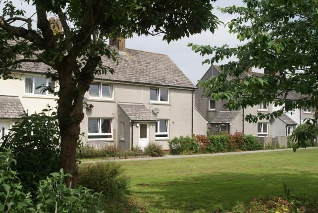 Thumbnail End terrace house for sale in St Eval, Wadebridge, Cornwall
