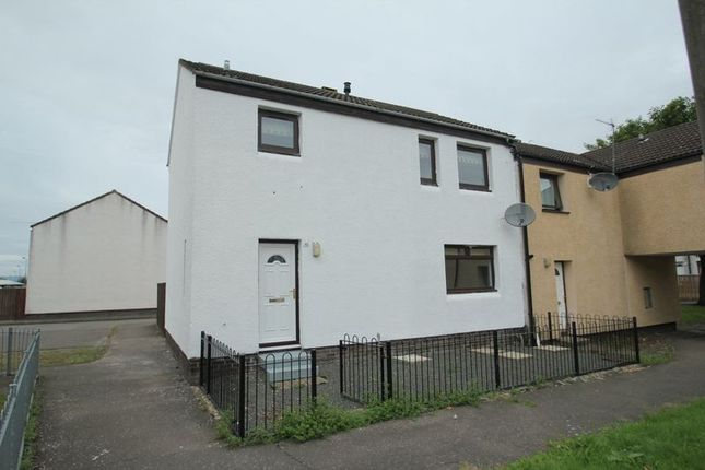 Thumbnail Terraced house to rent in Arran Court, Alloa