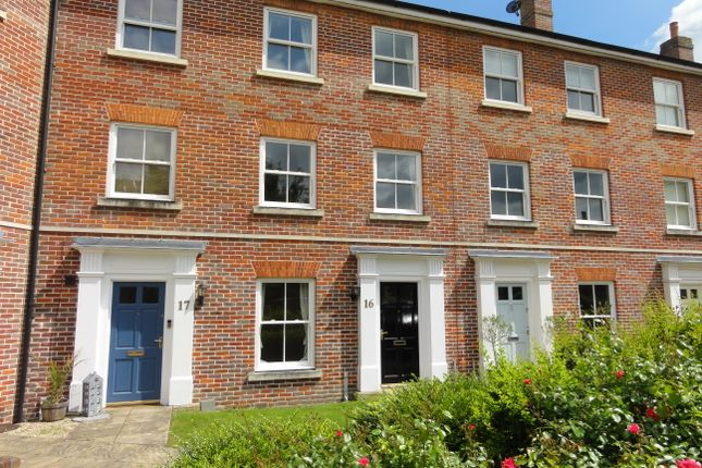 Thumbnail Town house to rent in Chancellery Mews, Bury St. Edmunds