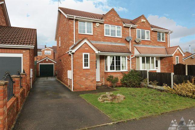 Thumbnail Semi-detached house to rent in Emmett Carr Lane, Renishaw, Sheffield