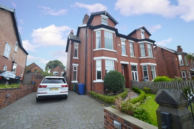 Thumbnail Semi-detached house for sale in Rosebury, Langley Road, Prestwich, Manchester