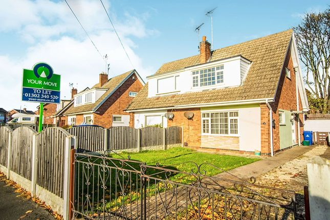 Thumbnail Semi-detached house to rent in Lutterworth Drive, Adwick-Le-Street, Doncaster
