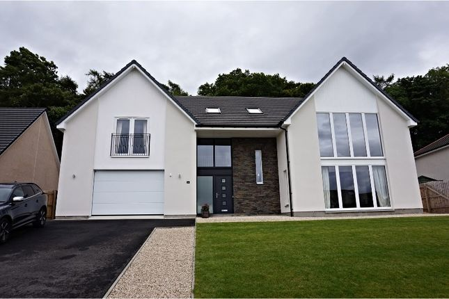 Thumbnail Detached house for sale in Upper Slackbuie, Inverness