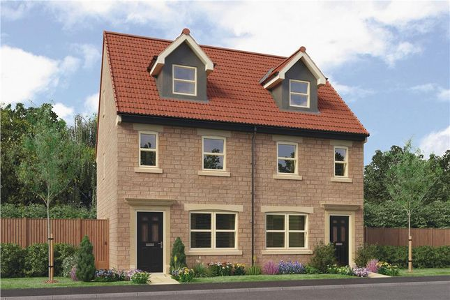 "Thumbnail Town house for sale in ""Tolkien"" at Grove Road, Boston Spa, Wetherby"