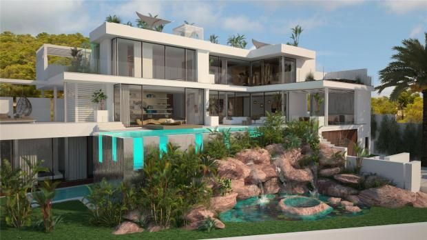 Thumbnail Property for sale in Nevada House, Vista Alegre, Es Cubells, Ibiza, Spain