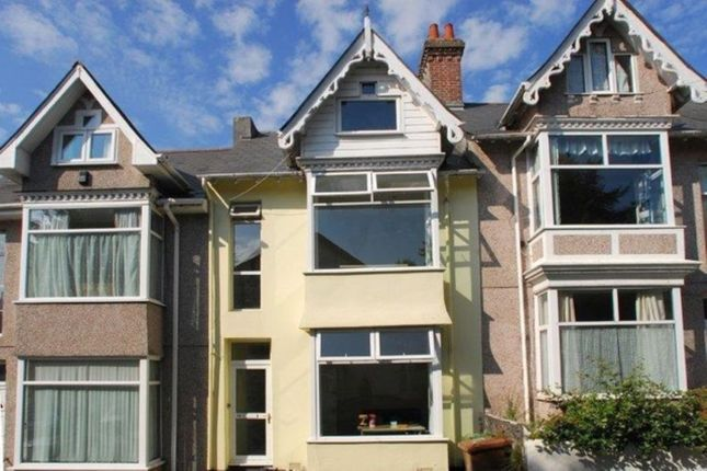 Thumbnail Terraced house to rent in Alton Road, Mutley, Plymouth