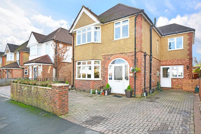 Thumbnail Detached house for sale in Byrefield Road, Guildford