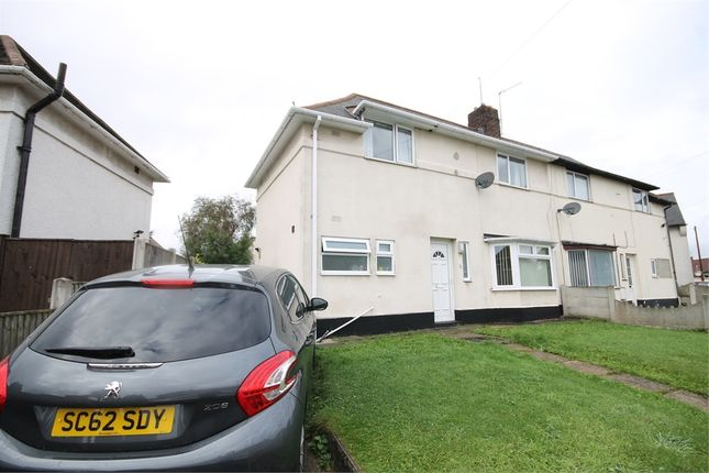 Thumbnail Semi-detached house for sale in Audrey Crescent, Mansfield Woodhouse, Mansfield, Nottinghamshire