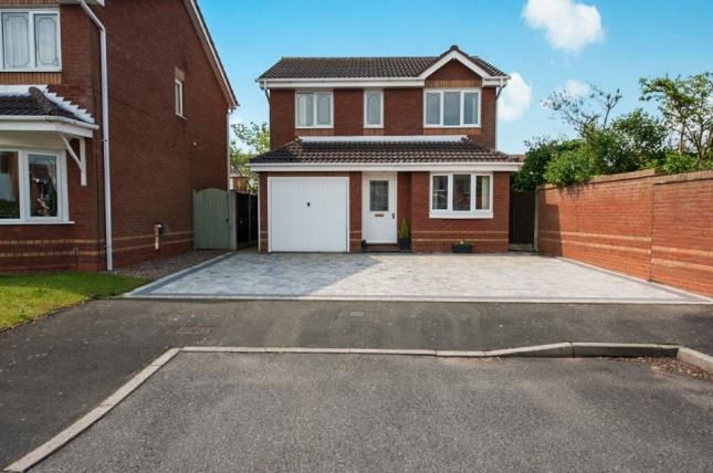 Thumbnail Detached house for sale in Greyfriars Drive, Tamworth, Staffordshire, England