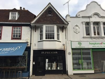 Thumbnail Retail premises to let in 19, Preston Street, Faversham, Kent