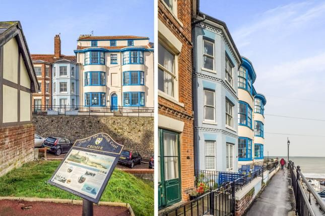 Thumbnail Terraced house for sale in The Gangway, Cromer, Norfolk