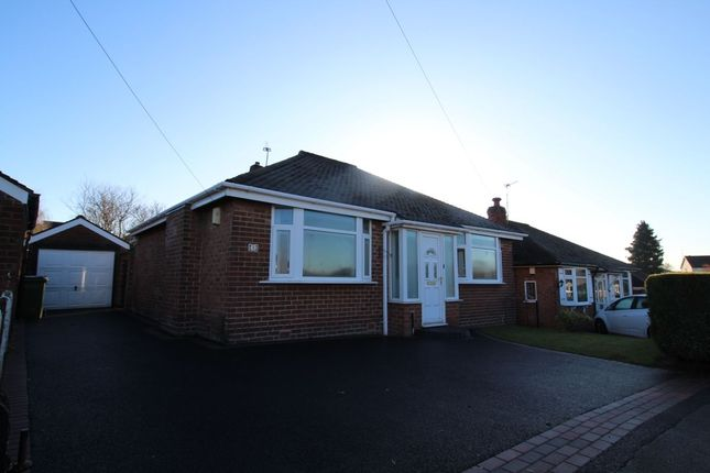 Thumbnail Bungalow to rent in Evesham Road, Cheadle