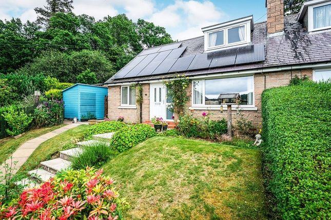 Thumbnail 2 bed semi-detached house for sale in Tor View, Contin, Strathpeffer