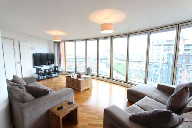 Thumbnail Flat to rent in Leftbank, Manchester