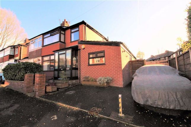 Thumbnail Semi-detached house for sale in Springfield Road, Droylsden, Droylsden Manchester