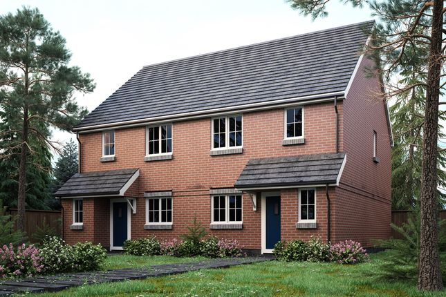 Thumbnail Semi-detached house for sale in Crown Close, Pewsey