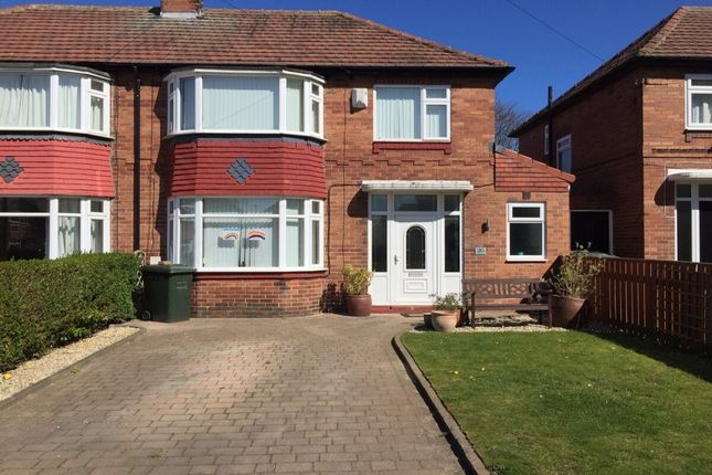 3 bed semi-detached house for sale in Berkeley Square, Newcastle Upon Tyne NE3